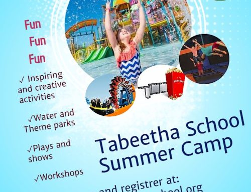 Tabeetha's First Summer Camp