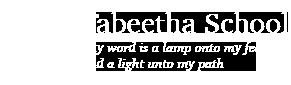 Tabeetha School Logo