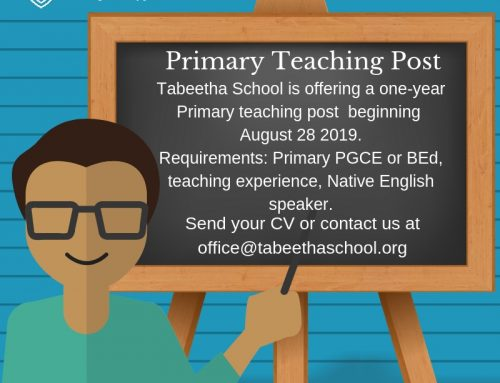 Primary Teaching Post Opportunity