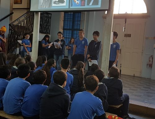 St Andrew's Day Assembly Grade 8