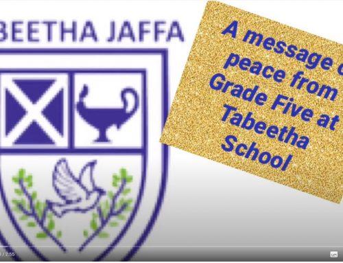 Tabeetha's Grade Five Class Video